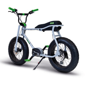 """Ruff Cycles Lil'Buddy 20"""" Bosch Active Line 500Wh silver grey"""